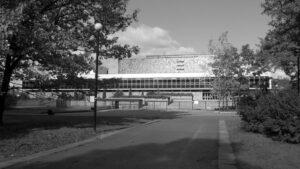 Warszawa Biblioteka Narodowa posadzki z kamienia wykończenia wewnętrzne w kamieniu