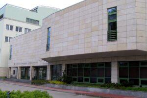 Wydział Biologii UW elewacja z kamienia
