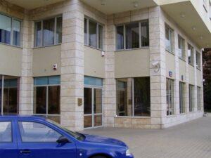 Warszawa ul.Łowicka budynek mieszkalny elewacja z kamienia