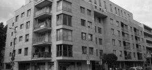 Warszawa ulWielicka budynek mieszkalny elewacja z piaskowca