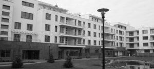 """Warszawa budynek mieszkalny """"Pod Koroną"""" elewacje z piaskowca"""