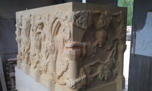 Rzeźby z piaskowca na zamówienie