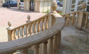 Balustrada z piaskowca