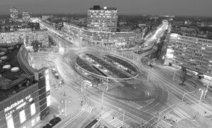 Wrocław Plac Grunwaldzki Kamienne elewacje posadzki kamienne