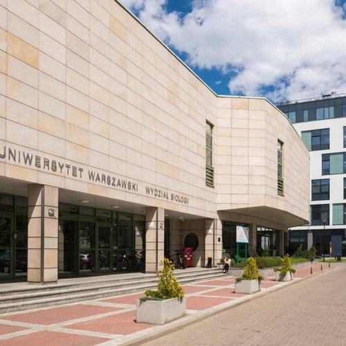 Budynek Wydziału Biologii UW