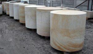 Kolumny z piaskowca elementy na zamówienie