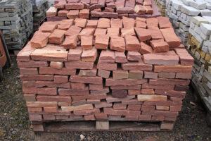 Wyroby gotowe z piaskowca cegły