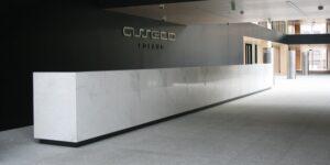 Warszawa Siedziba Asseco posadzki kamienne wykończenia wewnętrzne w kamieniu