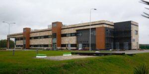 Krzycko Wielkie budynek biurowy elewacje z kamienia