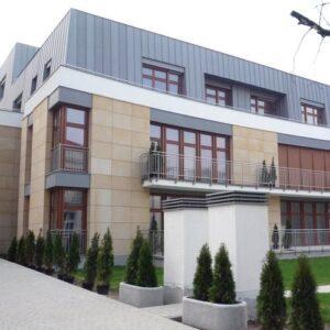 Poznań budynek mieszkalny ul.Libelta elewacje z piaskowca