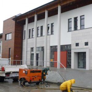 Bielsko-Biała Centrum Kardiochirurgii elewacje z piaskowca